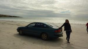 Nous on visite les plages en voiture !