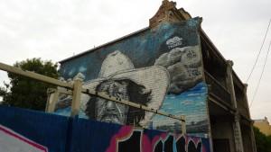 Grafiti à Fitzroy