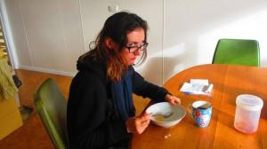 Porridge le matin