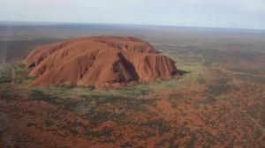 Uluru de plus haut