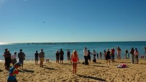Cérémonie de bienvenue aux baleines à Hervey Bay