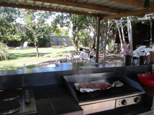 Repas du midi à Hervey Bay