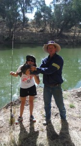 Elo à la pêche