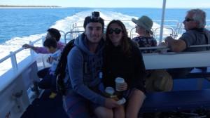 Avant de voir les baleines à Hervey Bay