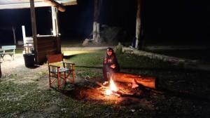 Au bord du feu
