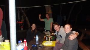 Au campement à Fraser Island
