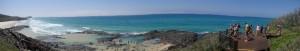 Les piscine de Champagne à Fraser Island