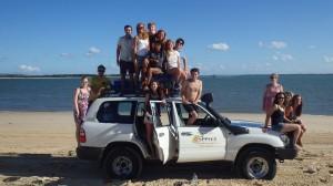 Fraser l'Island et sa joyeuse équipe