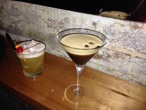 Expresso Martini et Amaretto sour au Vic