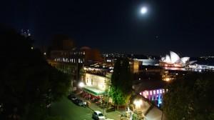 vue sur l'Opéra et sur le Glenmore Hotel Rooftop