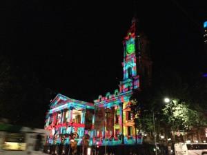 La mairie pendant les fêtes