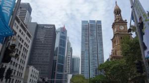 les buildings du CBD