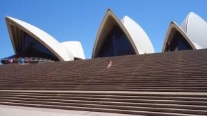 l'Opéra et Elodie en tout petit