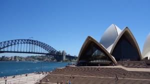 l'Opéra et l'Harbour bridge