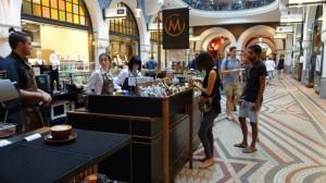 le Café Metropole dans le centre commercial Queen Victoria Building