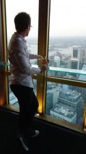 Dans les hauteurs de la tour 360 degrés