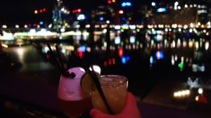 Cocktails à Darling Harbour