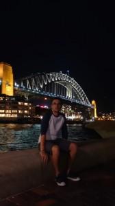 l'Harbour Bridge de nuit